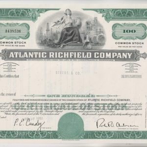 Atlantic Richfield Company 100 SHARES