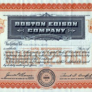 Boston Edison Company 100