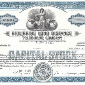 Philippine Long Distance Telephone Company -100shares