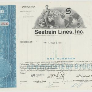 Seatrain Lines, Inc. 100 shares
