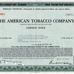 The American Tobacco Company -100