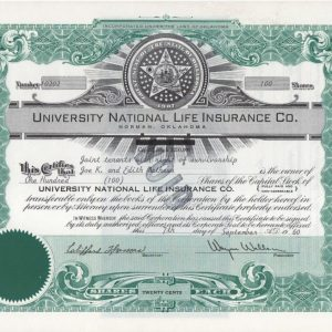 University National Life Insurance Co. 100